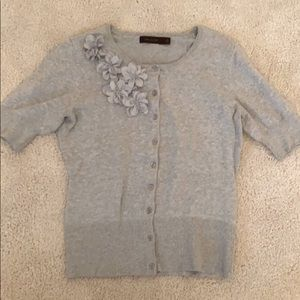 The Limited s/s grey top small